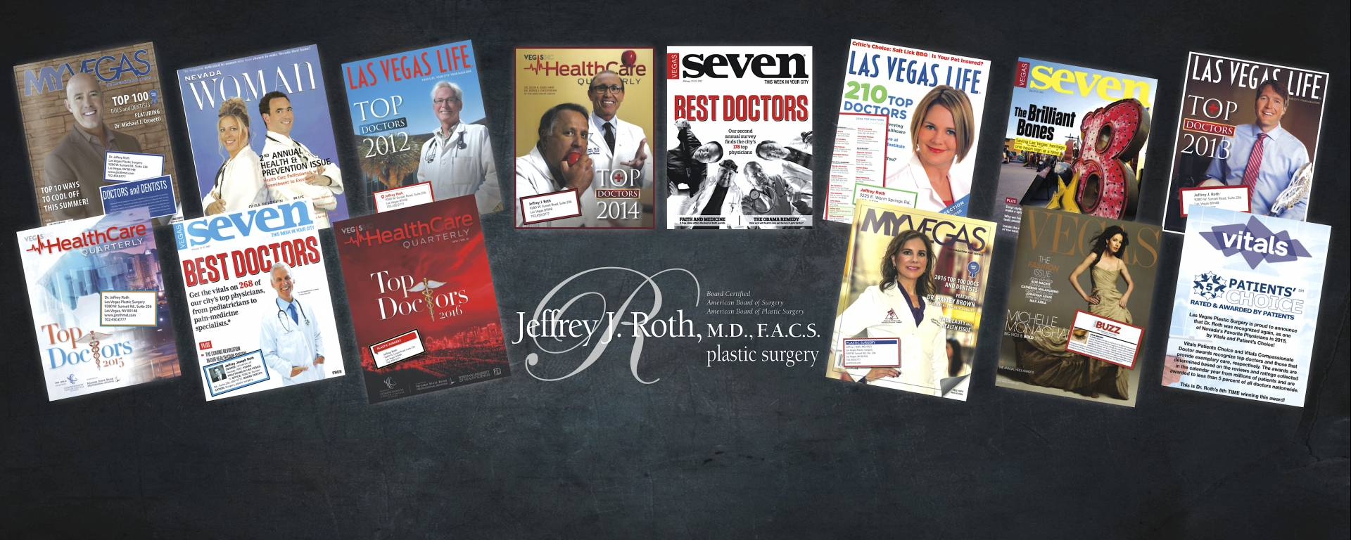 "Dr. Roth has been chosen as a ""Top Doc"" for 13 Years and counting!"