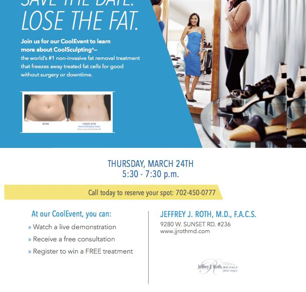MARCH 24th! Join us for a Coolsculpting Event!