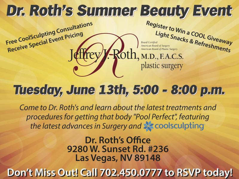Dr. Roth's Summer Beauty Event!