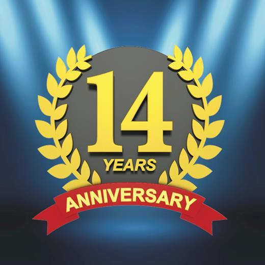 Dr. Roth Celebrates his 14th Anniversary in Las Vegas!