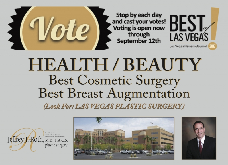 "Dr. Roth nominated as ""Best of Las Vegas, 2017""!"
