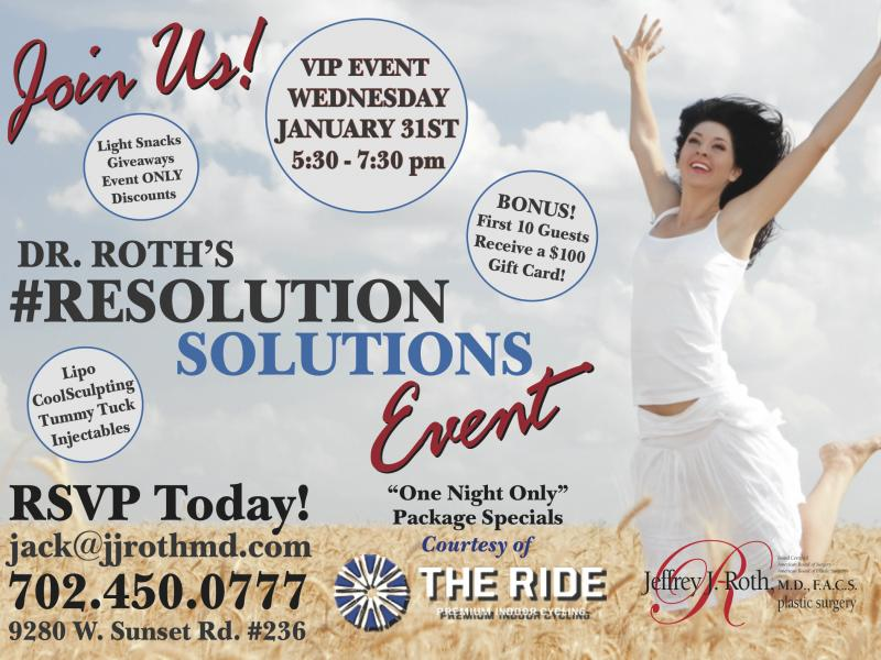 Resolution Solution Event: Jan. 31st!