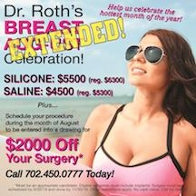 BREAST AUGust Celebration Extended Thru Sept.!